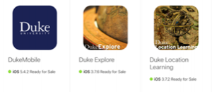 Duke App Icons